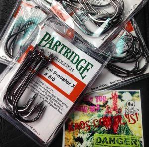 partridge hooks